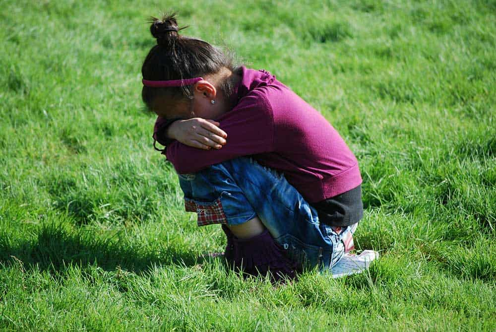 Dealing with an upset child